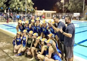 Water Polo Girls Take Valley